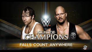 Nonton Wwe 2k16  Pc Gameplay   Stone Cold Vs Dean Ambrose  Fall Count Anywhere Match Night Of Champion 2016 Film Subtitle Indonesia Streaming Movie Download