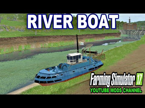 LS11 Boat Fishing River v1.0