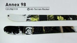 K2 Annex 98 Skis 2014