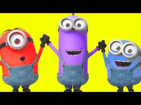 Despicable Me 3 Minions Color Combinations
