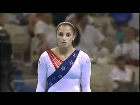 Mohini Bhardwaj 2004 Olympics Qualifications Uneven Bars (USA)
