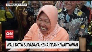 Wali Kota Surabaya Kena Prank Wartawan
