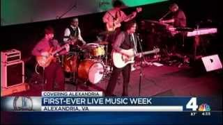 Jason Featured on NBC Channel 4 for Alexandria Music Week
