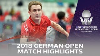 2018 German Open  Ruwen Filus vs Viacheslav Burov