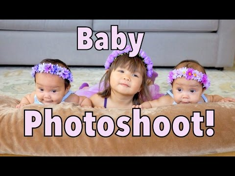 3 MINUTE BABY PHOTO SHOOT! – July 21, 2014 – itsJudysLife Daily Vlog