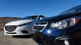 Video 2014 Mazda3 vs Subaru Impreza 0-60 MPH Matchup Review MP3, 3GP, MP4, WEBM, AVI, FLV Agustus 2018