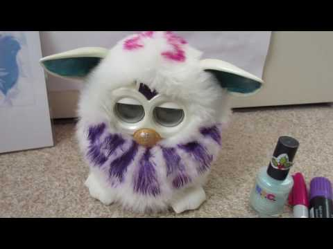 How To Customize A Furby