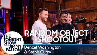 Video Random Object Shootout with Denzel Washington and Steph Curry MP3, 3GP, MP4, WEBM, AVI, FLV April 2018