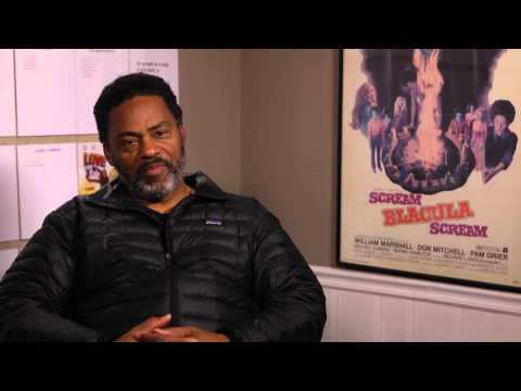 Scream Blacula Scream (2/2) Actor Richard Lawson Talks About the Passion of a Vampire Bite (1973) HD