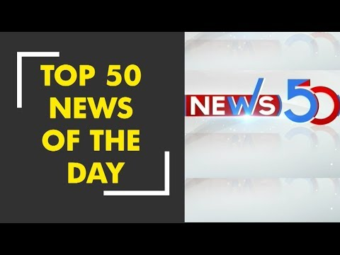 Watch top news stories of today, Oct. 24th, 2018