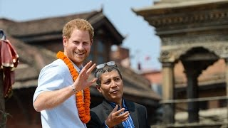 Patan Nepal  city images : Prince Harry in Nepal - Patan Durbar Square