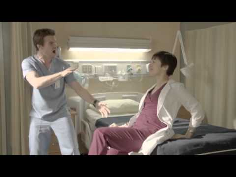 Inside Saving Hope - Maggie and Joel, Getting Serious Or (Web Extra).flv