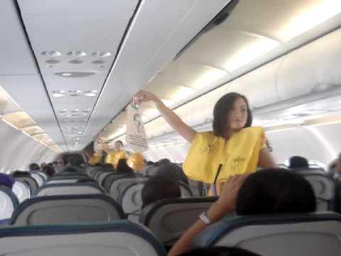 宿霧太平洋航空空姐大跳求生舞