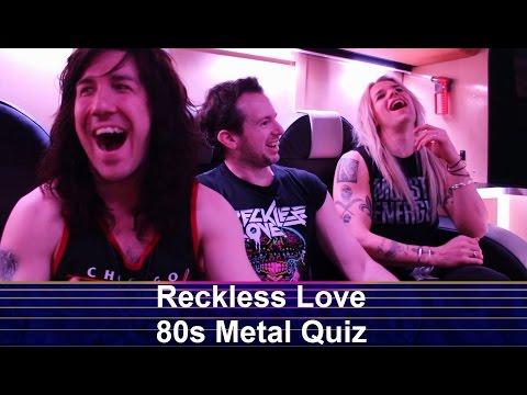 Reckless Love 80s Metal Quiz (Deutsche Untertitel)