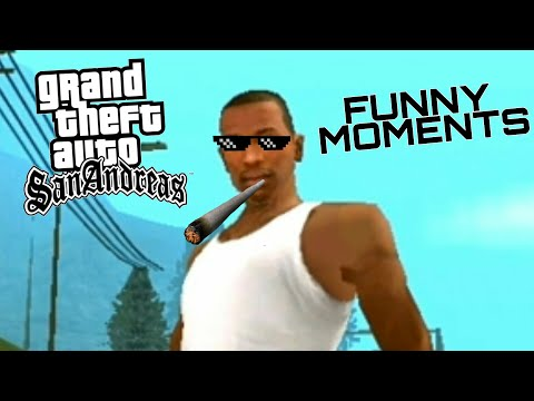 GTA San Andreas Android Stunts And Fails (Funny Moments)