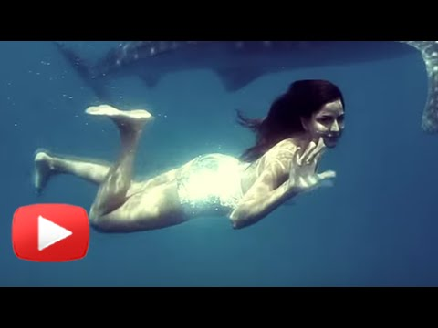 Katrina Kaif's Hot Swimwear Photoshoot - Vogue 201