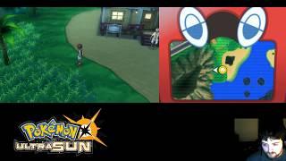 Pokemon Ultra Sun (Blind) Uncut #6 - Inside Kukui's House & Battling at the Beach