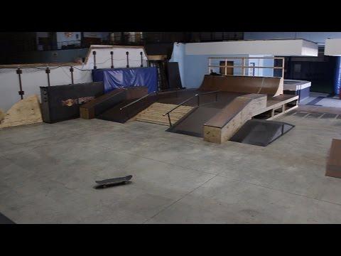 2017 Kansas City Indoor Skatepark NEW