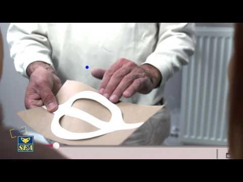 Papier silex avec poignée handfix