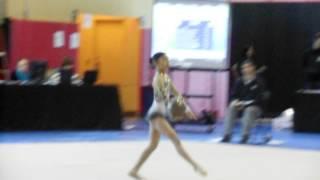 Hilary Rhythmic Gymnastics Ball New York January 2013