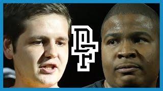 CRUGER VS DNA   Don't Flop Rap Battle