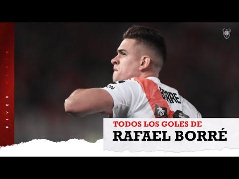Los 55 goles de Borré en River