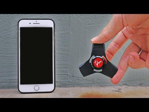 1000mph FIDGET SPINNER VS iPHONE!