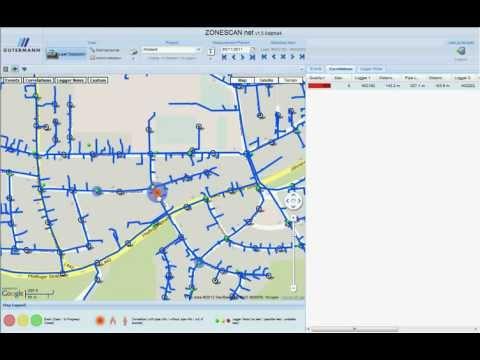 Gutermann Fixed Network Alpha System - Zonescan Net Software