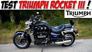 9. #Moto Vlog 148 : TEST TRIUMPH ROCKET 3 180 CH / CE MOTEUR ASPIRE TOUT L'AIR ! 😂