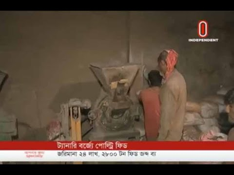Poultry feed using tannery toxic wastes (19-06-2019) Courtesy: Independent TV