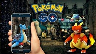 Capturando Vários Raros Rápido no Pokémon GO & Polícia na Gameplay by Pokémon GO Gameplay
