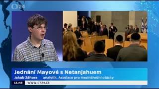 Jednání Mayové s Netanjahuem