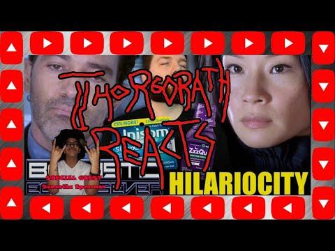"Thorgorath Reacts - ""Ballistic: Ecks Vs  Sever - Hilariocity Review"" (Chris Stuckmann)"