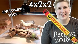CHANGING MY BEARDED DRAGON'S UVB LIGHT PLUS A FULL ENCLOSURE TOUR by Pickles12807