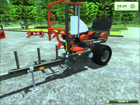 Test-Pack Ursus Addon Farming Simulator 2013