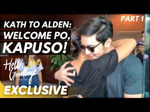 Kathryn welcomes Alden to ABS-CBN Studios! | 'Hello, Love, Goodbye'