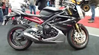 7. 2016 Triumph Daytona 675 R 128 Hp 260 Km/h 161 mph * see also Playlist