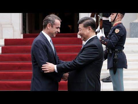 Ο Πρόεδρος της Κίνας Σι Τζινπίνγκ στην Αθήνα- updates