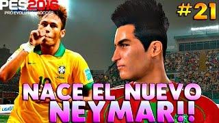 PES 2016 ML | EL CAÑONAZO IMPARABLE  DE NEILTON! ¿EL NUEVO NEYMAR? #21 | 2.0 |, neymar, neymar Barcelona,  Barcelona, chung ket cup c1, Barcelona juventus
