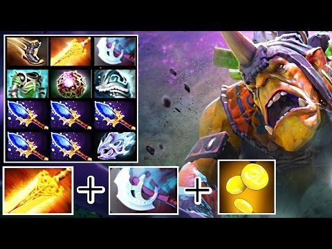 Miduan (MidOne) Alchemist Fast Farm, Push and Aghanim's Scepter for all Team – Dota 2 Gameplay