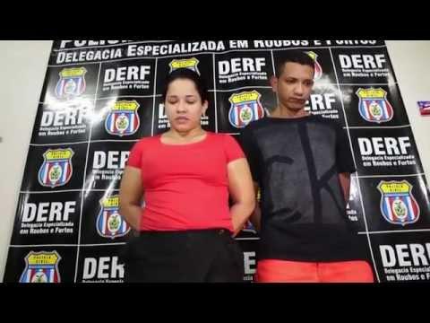 Presos suspeitos de assalto a banco em Manaus