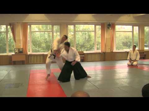 Aikido Yoshinkan Demonstration in Kiev