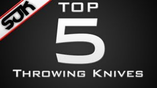 Video StraightUpKnives: Top 5 Throwing Knives of the Week - Week 31 MP3, 3GP, MP4, WEBM, AVI, FLV Juni 2018