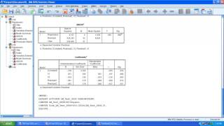 In this video I show how to test for heteroscedasticity LM (Breusch–Godfrey) Test using SPSS.