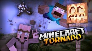 TORNADO I TSUNAMI W MINECRAFT ! - Weather&Tornadoes Mod