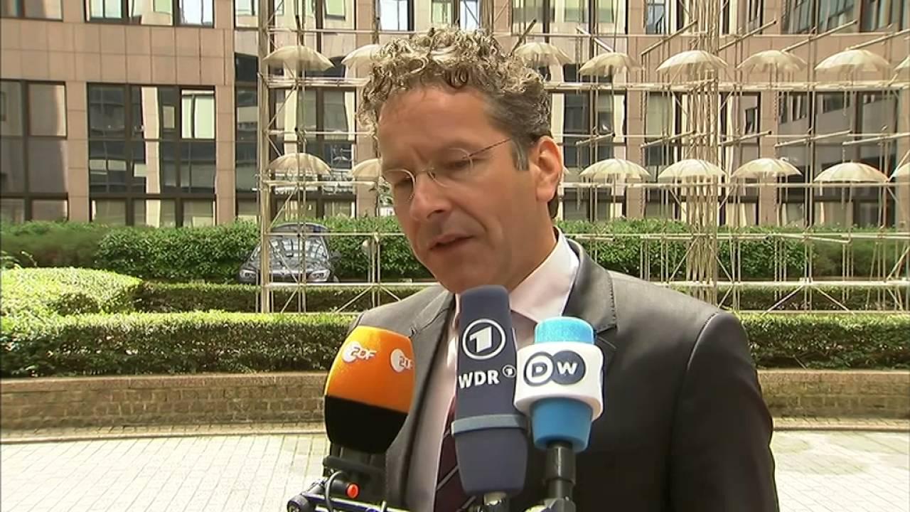 Δηλώσεις Ντέισελμπλουμ κατά την προσέλευσή του στο Eurogroup