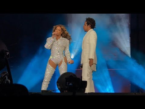 Beyoncé and Jay-Z - Holy Grail (Intro) On The Run 2 Seattle, Washington 10/4/2018