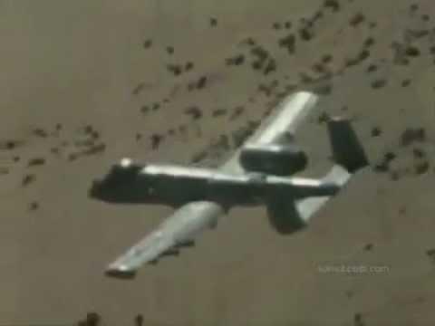 The Fairchild Republic A-10 Thunderbolt...