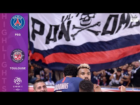 PSG 4 - 0 Toulouse - HIGHLIGHTS AND GOALS