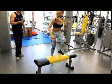 Exerccios para perder barriga   Queima de 48 Horas